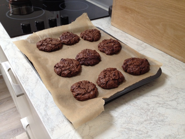 Wheat & Dairy Free Double Chocolate Cookies